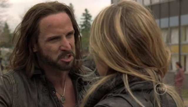 Falling Skies S1x09 - Colin Cunningham as bad boy John Pope