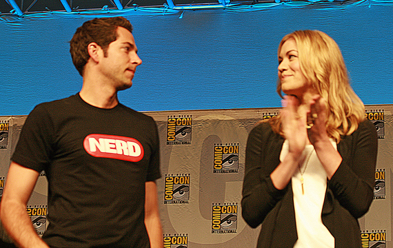 Zachary Levi and Yvonne Strahovski of Chuck