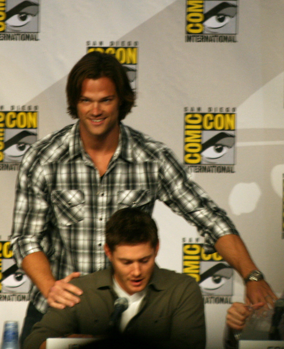 Jared Padalecki and Jensen Ackles of Supernatural