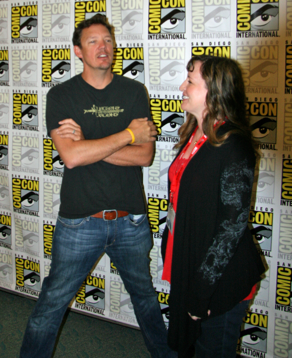 Matthew Lillard, the voice of Shaggy, and me