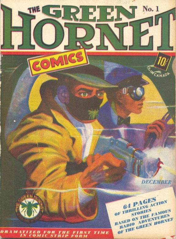 Green Hornet Comic No. 1 December 1940