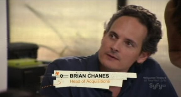 Hollywood Treasure's Brian Chanes