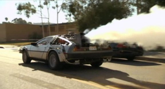 Hollywood Treasure with BTF Delorean