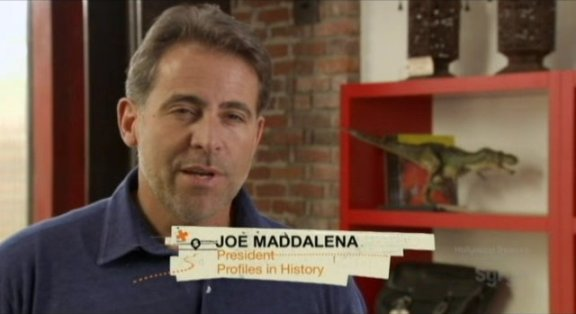 Hollywood Treasure's Joe Maddelena
