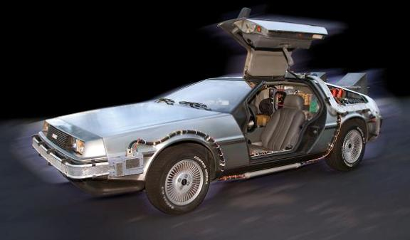 Technically accurate reproduction of DeLorean Time Machine!