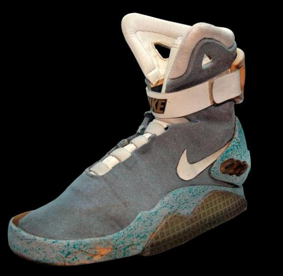 Marty McFly self-lacing shoe Back to the Future 2