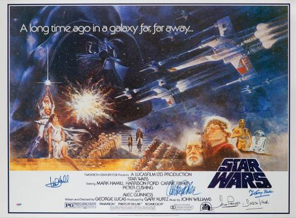 star wars cast poster