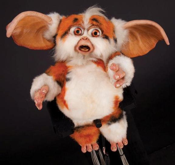 Screen-used Daffy puppet from Gremlins