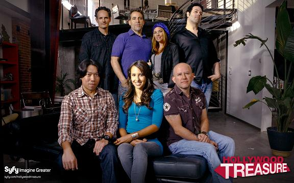 The SyFy Hollywood Treasure Team!