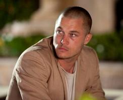 Travis Fimmel as Marcus in Needle!