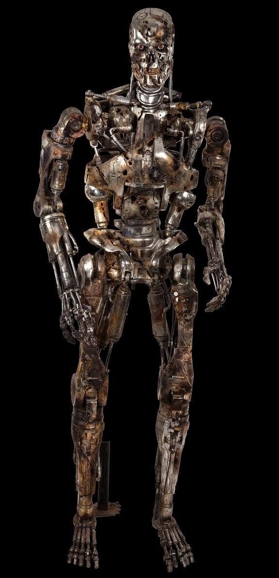 T2 Judgment Day Battlefield T-800 Endoskeleton
