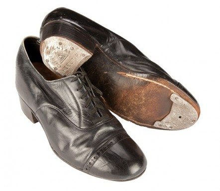James Cagney original tap shoes from Yankee Doodle Dandy