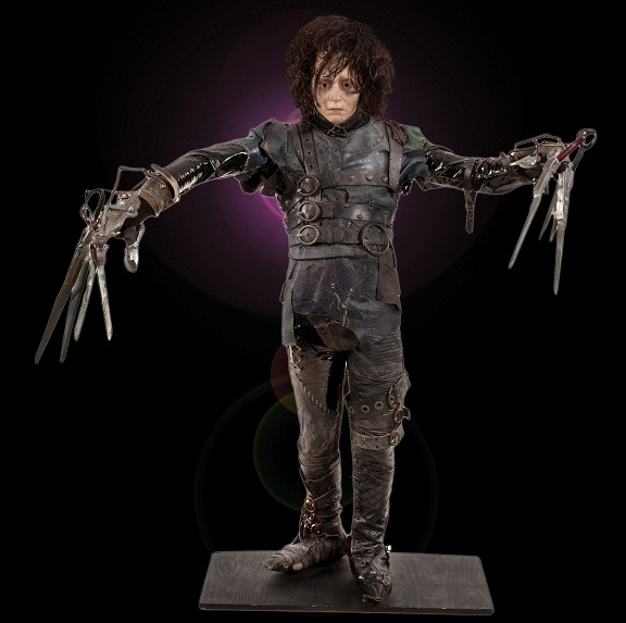 Edward Scissorhands - Johnny Depp costume & display