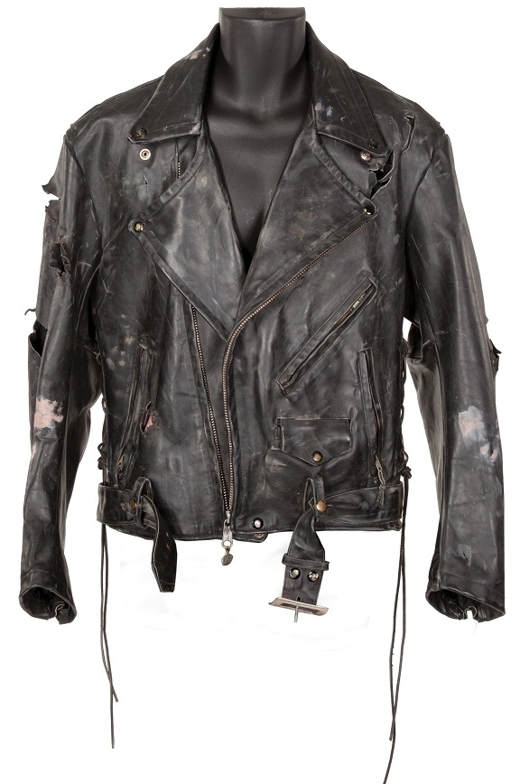 Arnold Schwarzenegger - The Terminator leather jacket