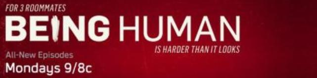 Being Human 2011 Season One Banner