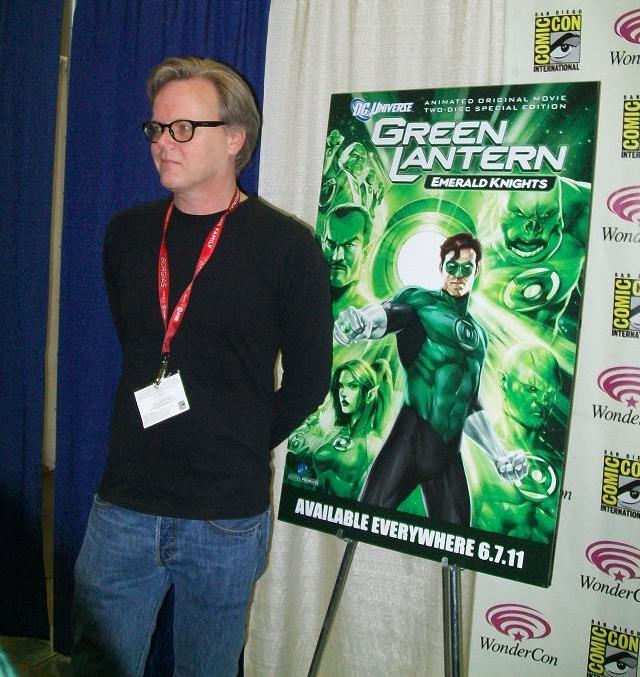 WonderCon 2011 - Bruce Timm - Green Lantern: Emerald Knights