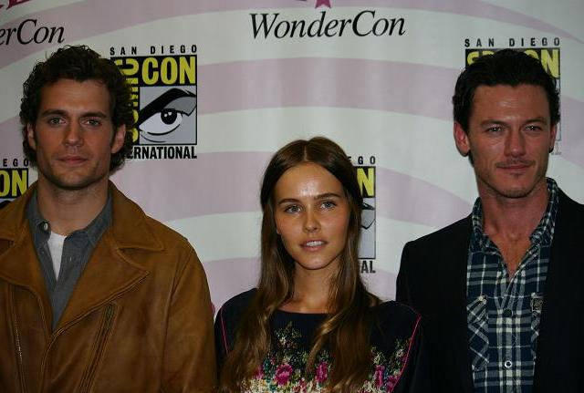 WonderCon 2011 - Immortals Cast - Henry, Isabel and Luke
