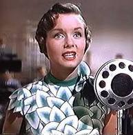 Debbie Reynolds from - Singin in the Rain!