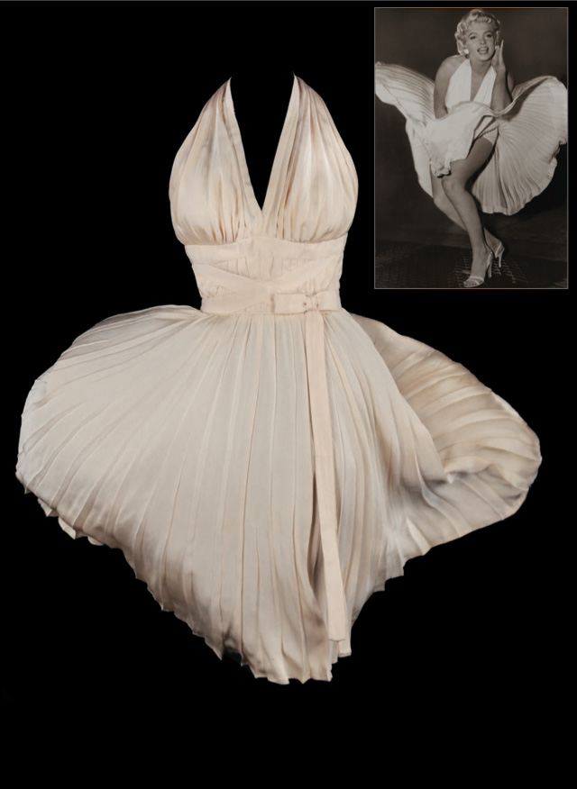 Profiles in History Debbie Reynolds - marilyn white dress