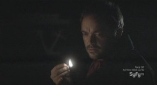 Mysterious Island - Mark Sheppard as the young Captain Nemo