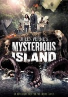 Mysterious Island Red Box banner poster - Click to purchase this Jules Verne classic!