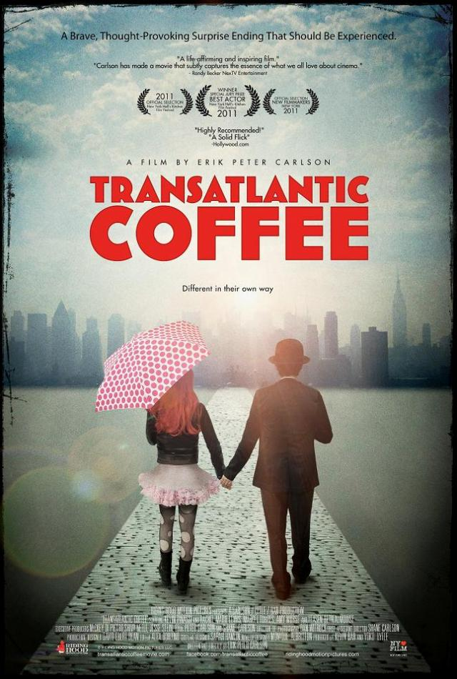 Transatalntic Coffe banner poster courtesy Riding Hood Motion Pictures