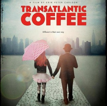 Transatalntic Coffe banner poster 
