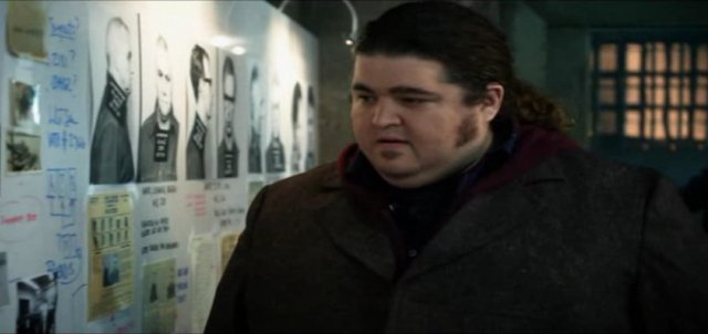 Alcatrax S1x01 - Jorge Garcia as Diego Soto