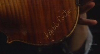 Alcatraz S1x11 - Rebecca proves it is Webb Porters violin