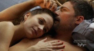 Alphas S2x02 - Dani and Cameron after the lovemaking is complete