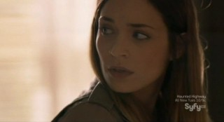 Alphas S2x02 - Dani wonders about the statement by Parrish