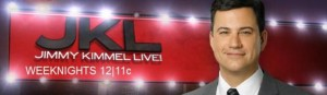 Jimmy Kimmel Live banner - Click to learn more at ABC!