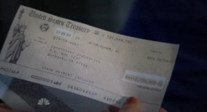 Chuck S5x03 - A 2 million plus check for Team Chuck
