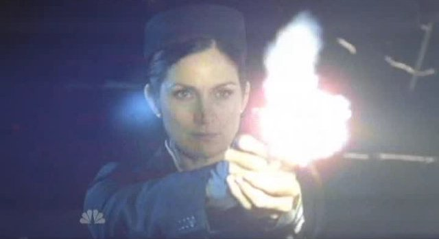Chuck S5x03 - Carrie-Anne Moss as Gertrude