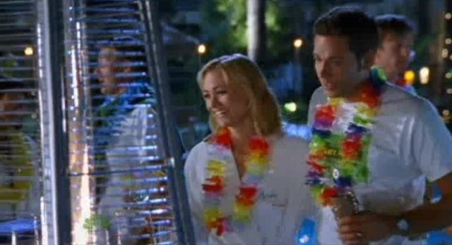 Chuck S5x04 - Chuck and Sarah party by the pool