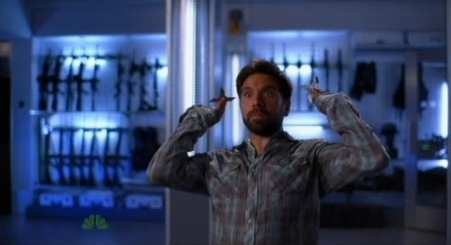 Chuck S5x04 - Morgan goes Intersect one last time
