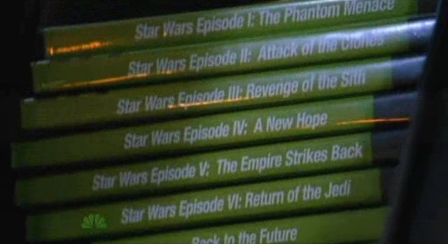 Chuck S5x04 - Star Wars, BTTF and more DVDs for Morgan
