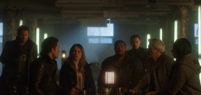 Dark Matter S1x01 Let's have a drink