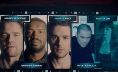 Dark Matter S1x01 The crew apparently learn they are miscreants