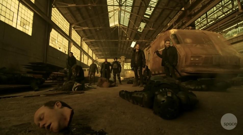 Dark Matter S01x02 Dead bad guys