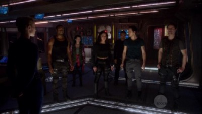 Dark Matter S1x02 The crew learns their mission