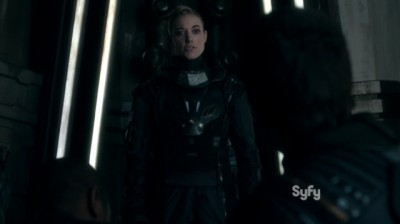 Dark Matter S1x03 Lie detector time via The Android