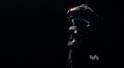 Dark Matter S1x03 The Raza arrives at the space station