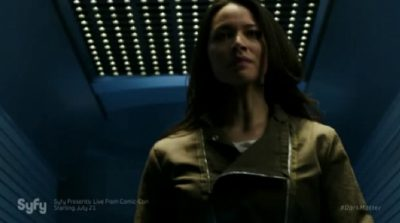 Dark Matter S2x02 Two is put in solitary confinement