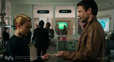 Dark Matter S2x04 An emotion chip for The Android