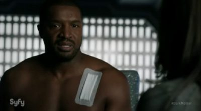 Dark Matter S2x05 Six is informed he will not be spaced