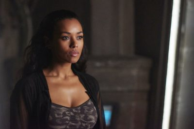 Dark Matter S2x07 Nyx seeks out Devon to obtain drugs