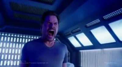 Dark Matter S2x09 The entity let's out a blood curdling scream