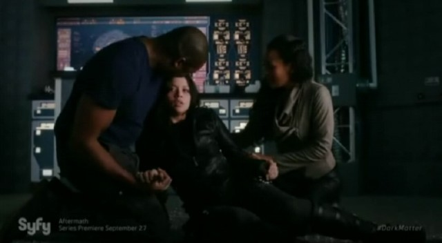 Dark Matter S2x09 Two is saved by quick thinking Six