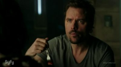 Dark Matter S2x09 Wow, you too were really going at it last night